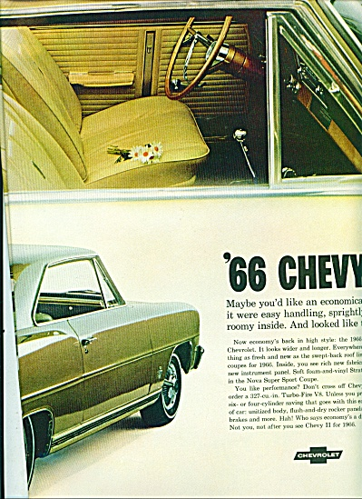 1965 - Chevy Ii 1966 Ad