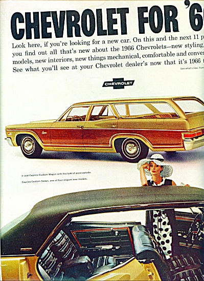 1965 -  Chevrolet for 1966 ad (Image1)