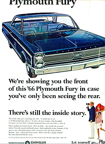 1965 -  Plymouth Fury automobile (Image1)
