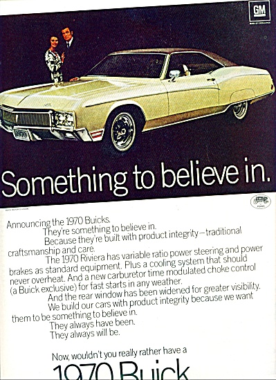 1970 -   Buick for 1970 ad (Image1)