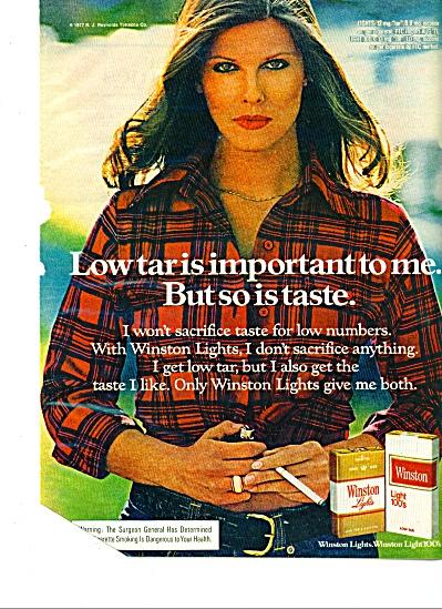 1978 - Winston cigarettes ad (Image1)