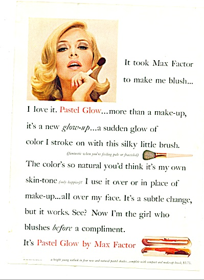 1965 -  Max Factor pastel glow ad (Image1)
