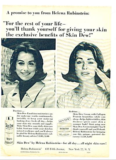 1965 -  Skin Dew by Helena Rubinstein ad (Image1)