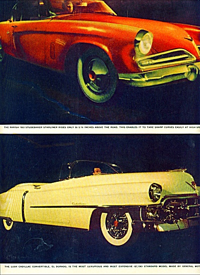 1953 -  Cars to come hog limelight story (Image1)