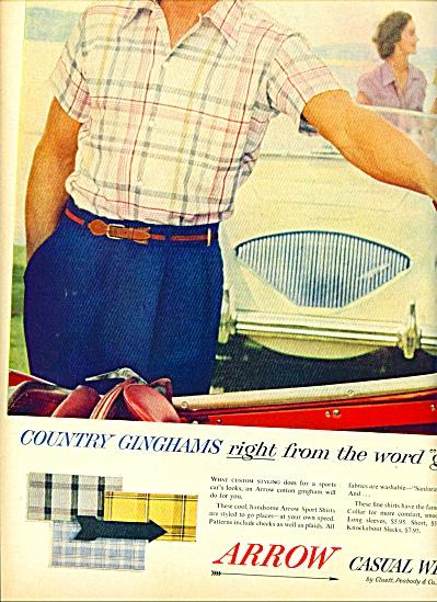 1955 -  Arrow casual wear ad (Image1)