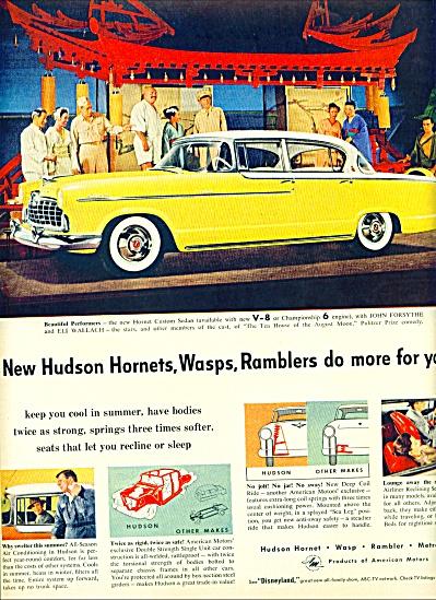 1955 -  Hudson Hornet, wasp and Rambler ad (Image1)