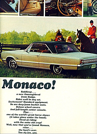 1965 -  Dodge Monaco auto ad (Image1)