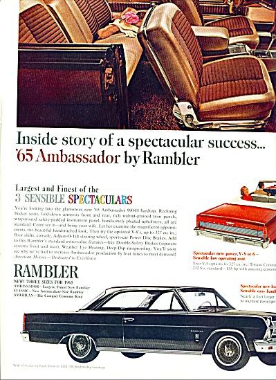 1965 -  Rambler Ambassador ad (Image1)
