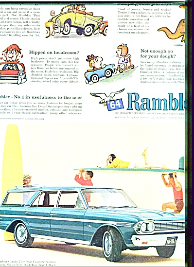1964 - Rambler auto for 1964 (Image1)