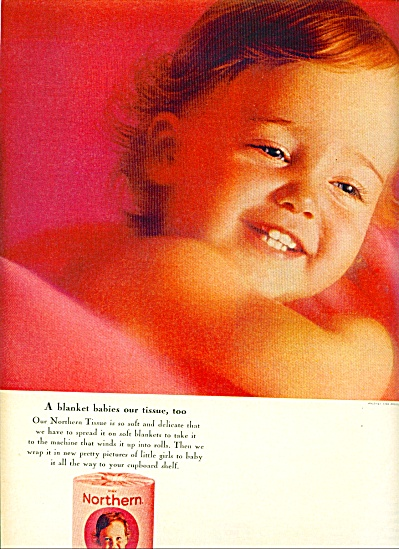 1964 -  Northern tissue ad (Image1)