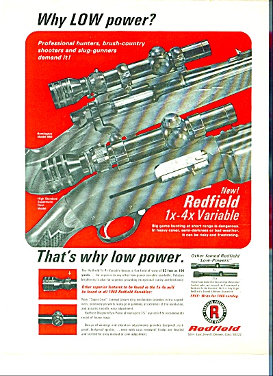 1968 - Redfield rifles ad (Image1)