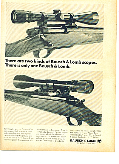 1968 - Bausch & Lomb  scopes ad (Image1)