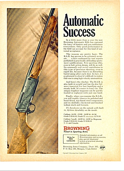 1968 - Browning finest in sporting arms ad (Image1)