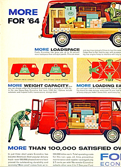 1964 -  Ford Econoline for 1964 (Image1)