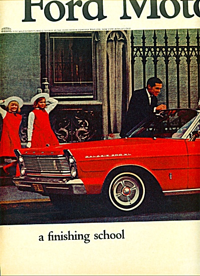 1964 - Ford Motor Company ad (Image1)