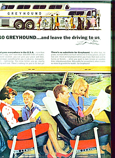 1964 - Greyhound Bus Ad