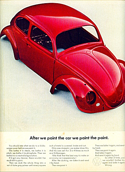 1964 -  Volkswagen auto ad. (Image1)