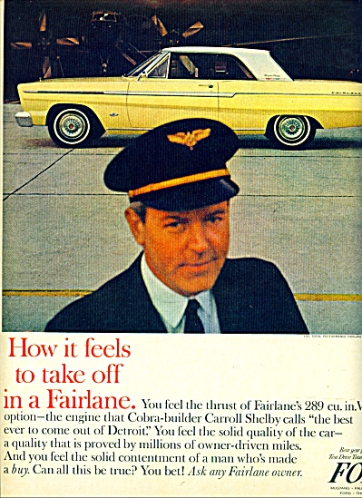 1964 - Ford Fairlane auto ad. (Image1)