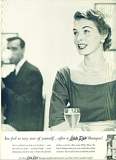 1955 -  White rain shampoo ad (Image1)