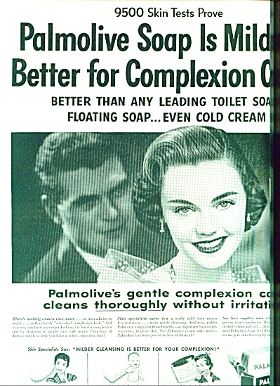 1955 -  Palmolive soap ad (Image1)