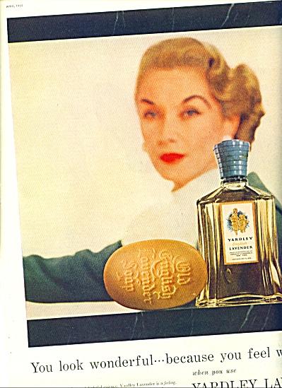1955 - Yardley Lavender ad (Image1)