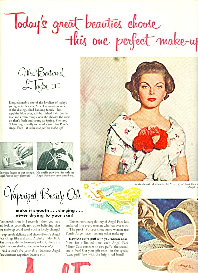1955 -  Angel Face by Pond's ad (Image1)