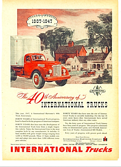1947 -  International trucks ad (Image1)