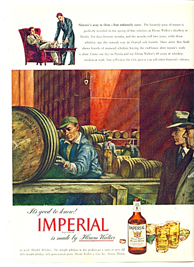 1947 - Imperial whiskey from Hiram Walker ad (Image1)