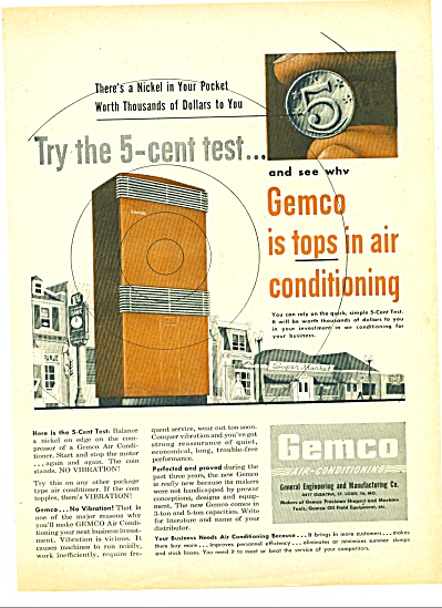 1947 -  Gemco air conditioning ad (Image1)