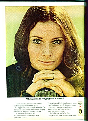 1970 -=  Loving Care hair color ad (Image1)