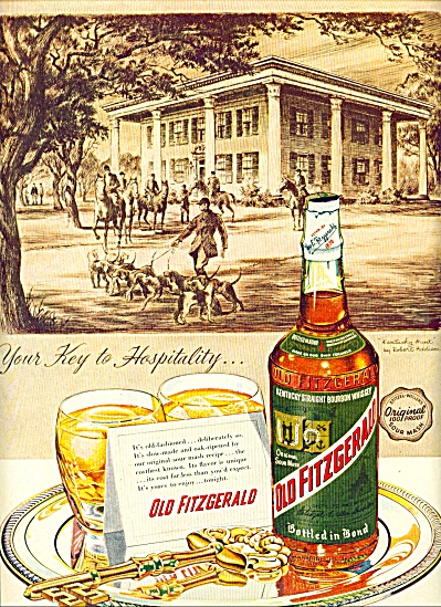 1955 - Old Fitzgerald Kentucky Whiskey Ad