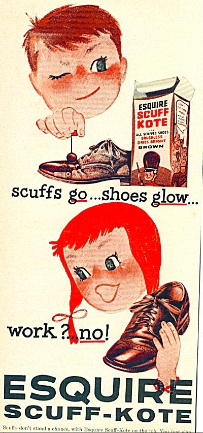 1956 -  Esquire scuff kote ad (Image1)