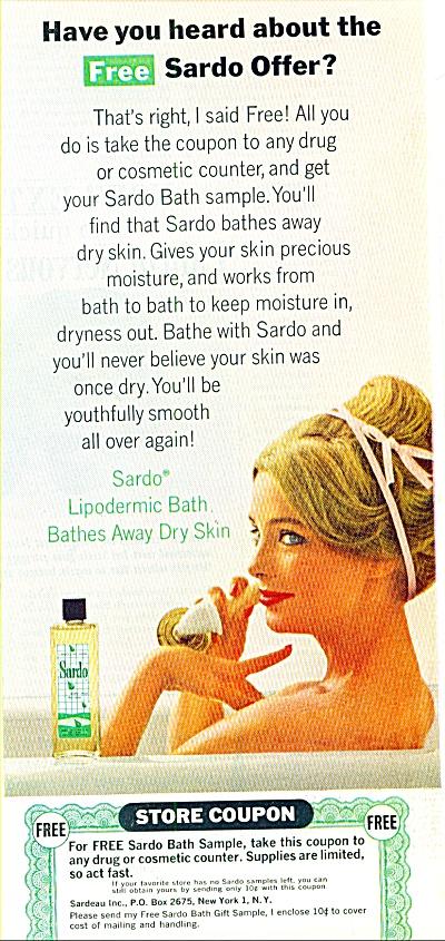 Sardo bath  soap ad (Image1)