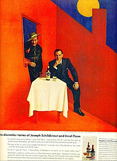 1956 - Heublein cocktails - ERROL FLYNN (Image1)