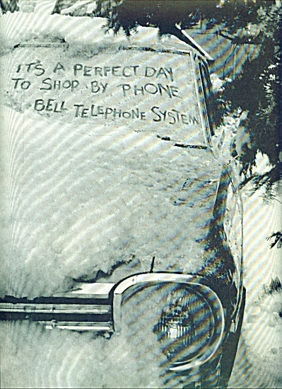 Bell Telephone system ad (Image1)
