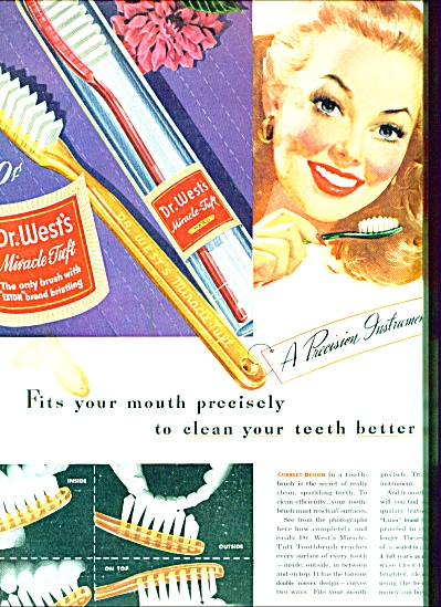 1946 -  Dr.West's miracle tuft tooth brush (Image1)