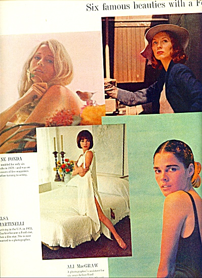 1970 10pg STORY of SIX FAMOUS FORD MODELS (Image1)