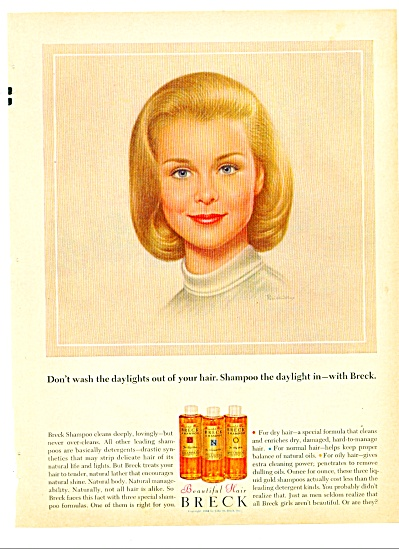 1964 - Breck shampoo ad (Image1)