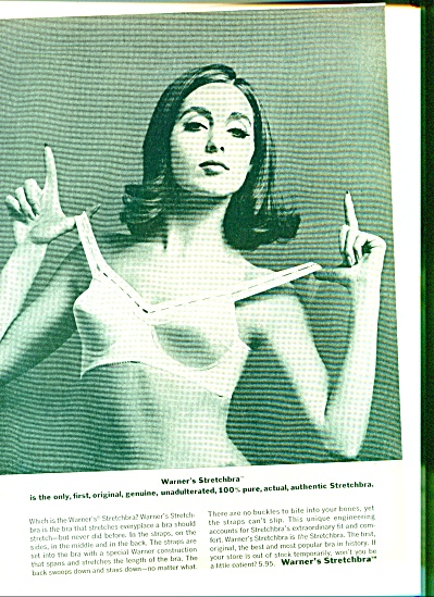 1964 -  Warner's stretch bra ad (Image1)