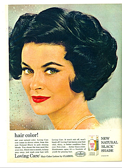 1964 -  Loving Care color lotion by Clairol (Image1)