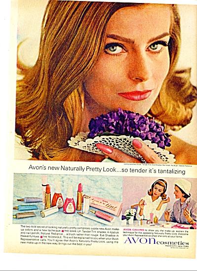 1964 -  Avon cosmetics ad TANTALIZING LIPSTICK (Image1)