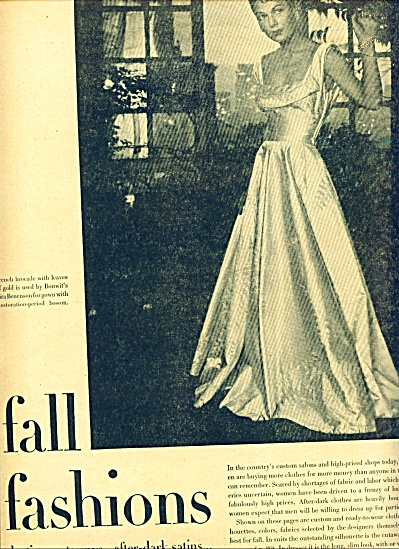 1946 -  Fall Fashions for the ladies (Image1)