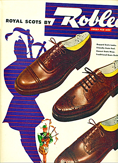 1946 -  Roblee shoes for men ad (Image1)