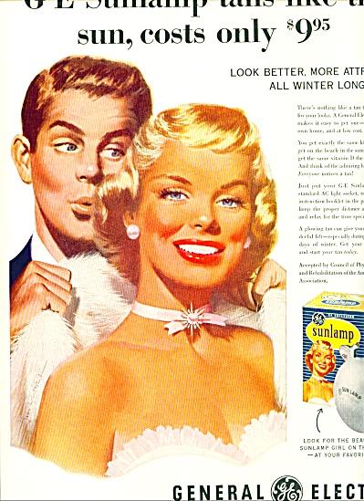 1955 -  General electric sun lamp ad (Image1)