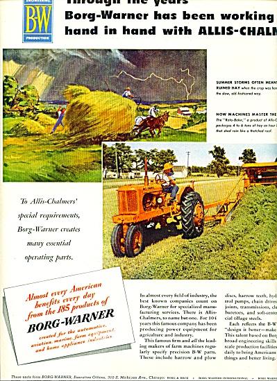 1955 -  Borg-Warner - Allis Chalmers ad (Image1)