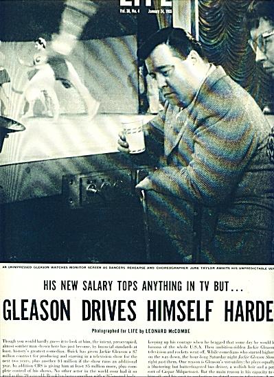 1955 -  JACKIE GLEASON  story (Image1)