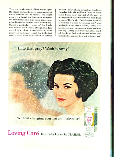 1966 - Loving Care  ad CLAIROL AD (Image1)