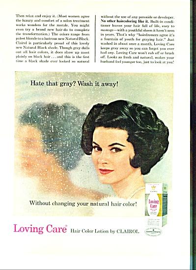1966 - Loving Care  ad CLAIROL AD (Image1)