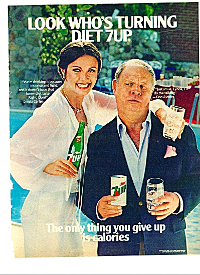 1981 - Diet 7-up Drink Ad - Don Rickles
