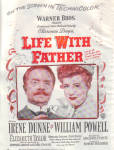 1947 LIFE WITH FATHER Irene Dunne Movie AD